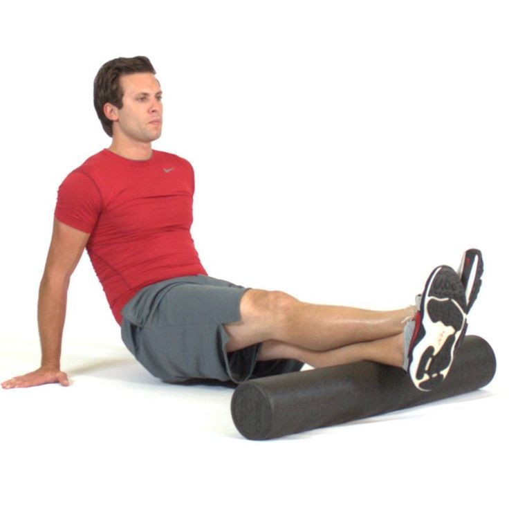 Foam Rollers utilizes the concept of autogenic inhibition to improve soft tissue extensibility, thus relaxing the muscle and allowing the activation of the antagonist muscle.  #athlete #pain #relief #exercise #gym #fitness #inspiration #champion #speed #athletic #skills #muscle #flex #flexfriday #workoutanytime #workout