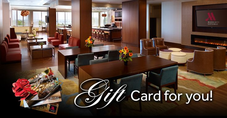 Do you know someone that loves coming to #NiagaraFalls? Surprise them with a Marriott Gateway Gift Card - http://www.marriottgatewayonthefalls.com/gift-certificates