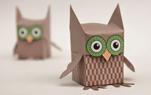 Printable Owl Box