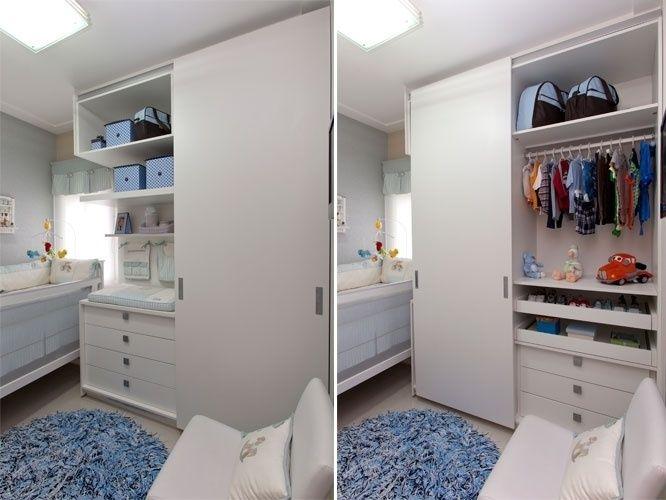 Veja ideias para aproveitar espaços pequenos para fazer o quarto do bebê - Gravidez e Filhos - UOL Mulher