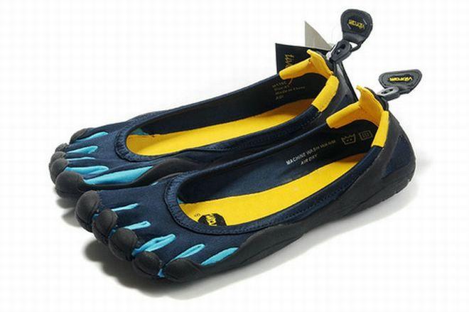 vibram five fingers classic light blue/dark blue men sneakers on sale