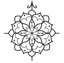 simple mandala designs - Google Search