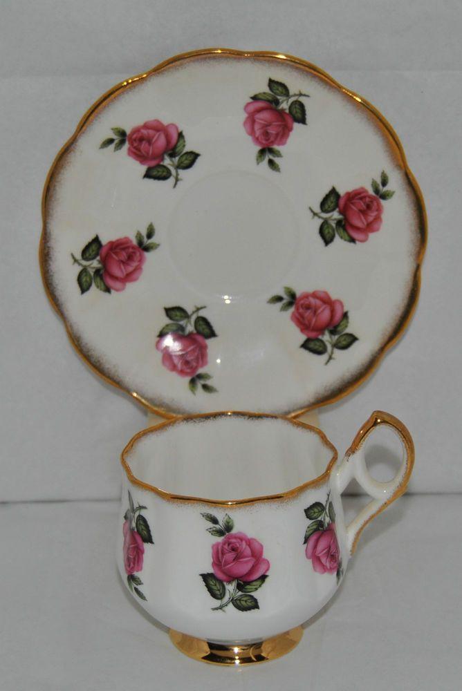 Beautiful Vintage Stratford Fine Bone China Tea Cup and Saucer #Stratford
