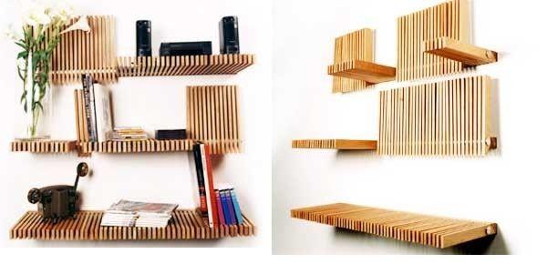 Folding Bookshelves   Melodyhome.com