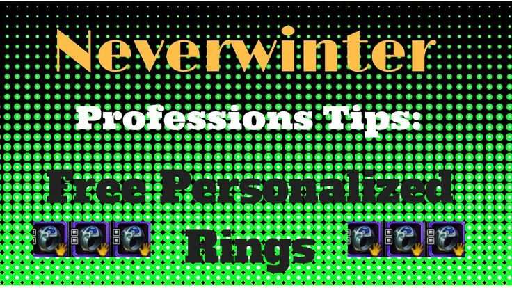 Neverwinter Professions Guide, PS4 XBox One - How to Craft Gemmed and Pe...