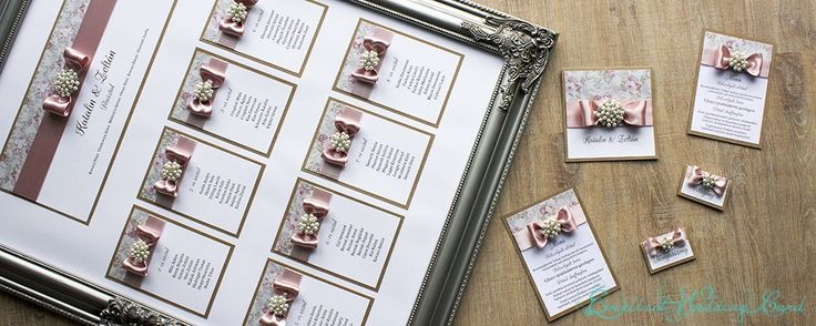 Luxus, egyedi esküvői meghívók