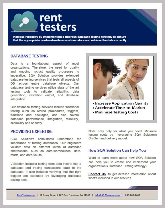 29 best our brochures for testing services images on pinterest sqa solutions reports testing and validation expertise can help you implement a strategy that is comprehensive and scalable for your project fandeluxe Image collections