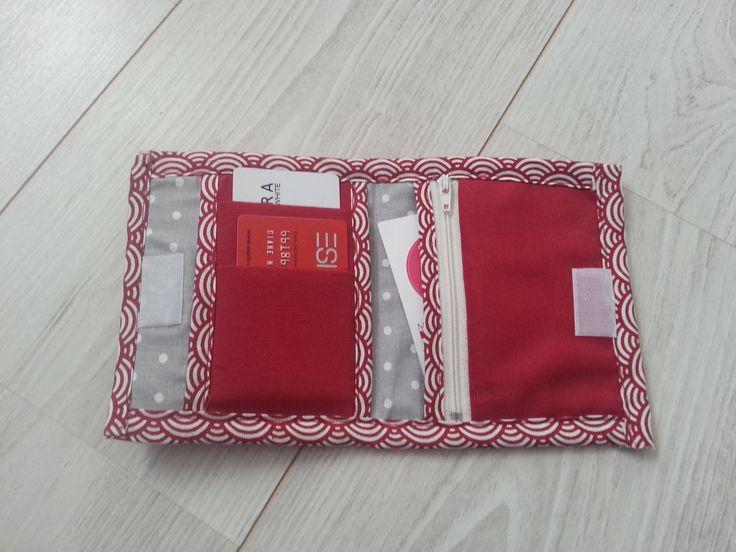 """TUTORIEL : Porte-monnaie """"noeud papillon"""" avec porte-cartes duo - Les loisirs de Diane"""