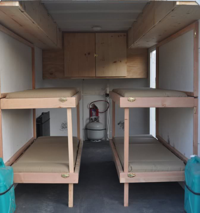 Enclosed Trailer Bunk Bed