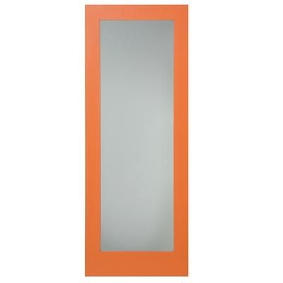 Milette - 32x80 1 Lite Shaker French Door Primed With Morocco Tempered Privacy Glass - EPRI60003280/MOT - Home Depot Canada