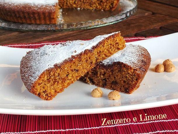torta al cioccolato e amaretti   Zenzero e Limone