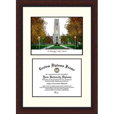 Campus Images Ncaa Legacy Scholar Diploma Picture Frame