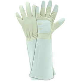 Style Selections Rose Pruning Gauntlet Large Unisex Leather Work Gloves