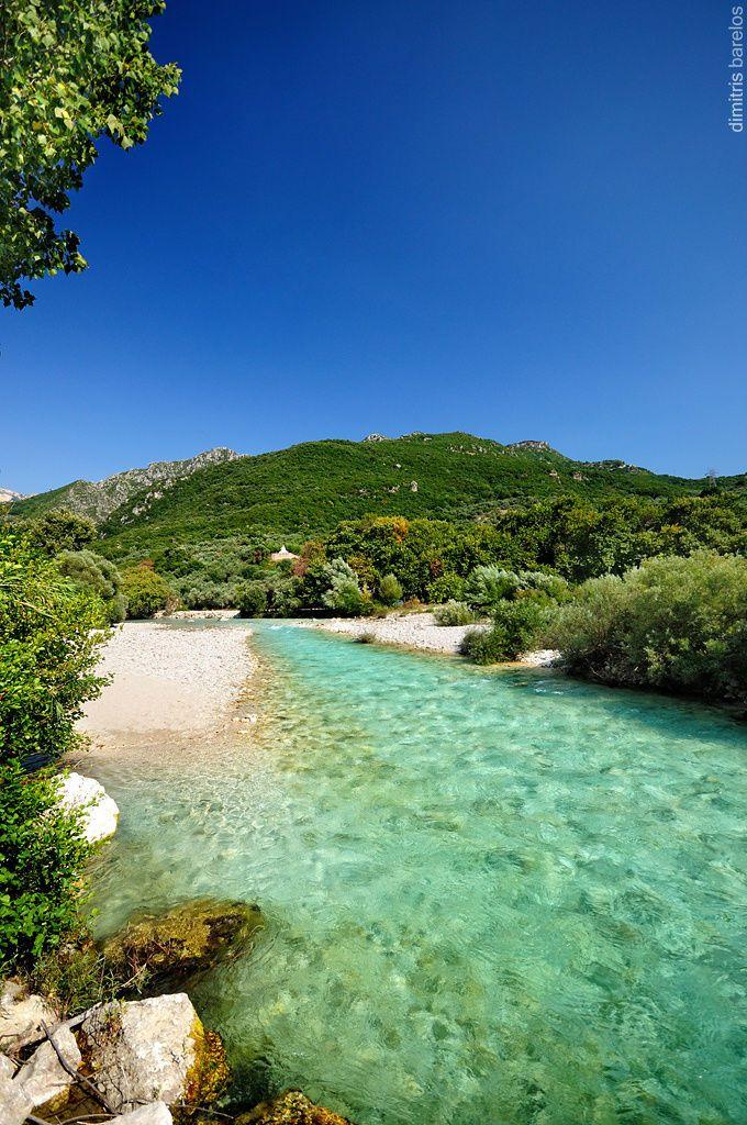 Acheron river, Epirus, Greece