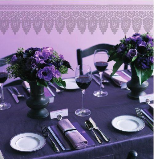 All Purple Table Part 27