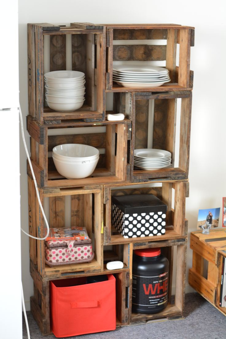 Shelves Made From Pallets 17 Best Beer Crate Ideas Images On Pinterest Projects Crate