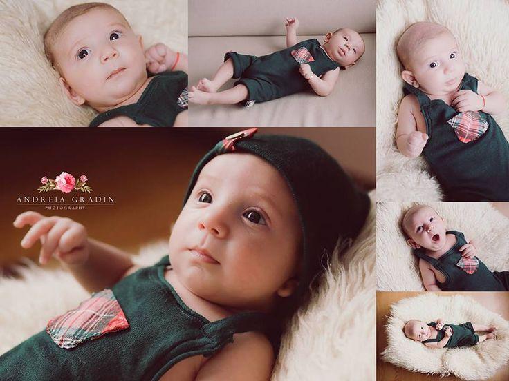 Sedinta foto nou nascuti - fotografii profesioniste realizate de Andreia Gradin