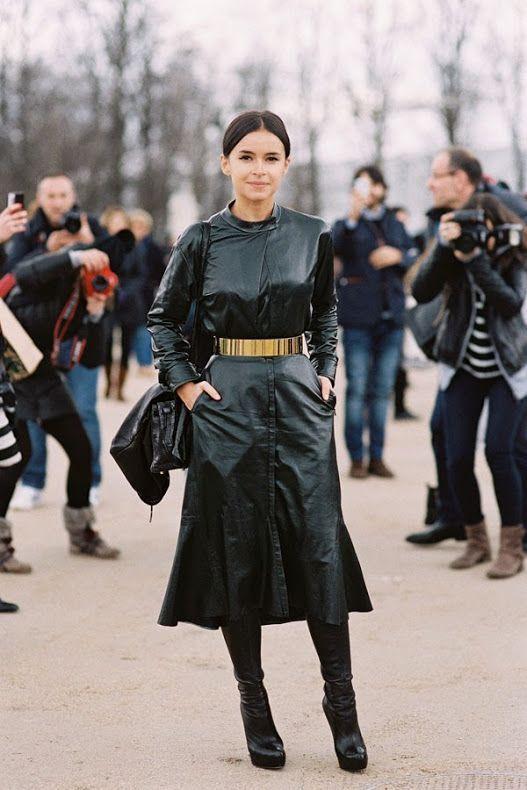 Paris Fashion Week AW 2014....Miroslava (via Bloglovin.com )