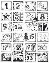 Výsledek obrázku pro adventní kalendář