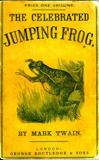 Feb. 29th: Celebrate Leap Year (when it happens) with Mark Twain's classic short story, The Celebrated Jumping Frog of Calaveras County. Click for the full text!