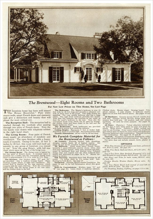 Find this Pin and more on Sears Catalogue Homes and Floorplans. 180 best Sears Catalogue Homes and Floorplans images on Pinterest