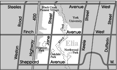 Elia is a culturally diverse neighbourhood that has traditionally been home to many new Canadian families.