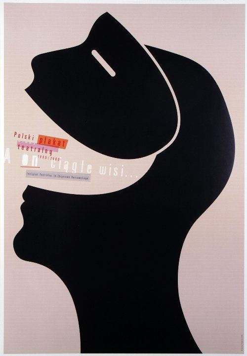 Polish Theater Posters 1990-2000, Exhibition Poster