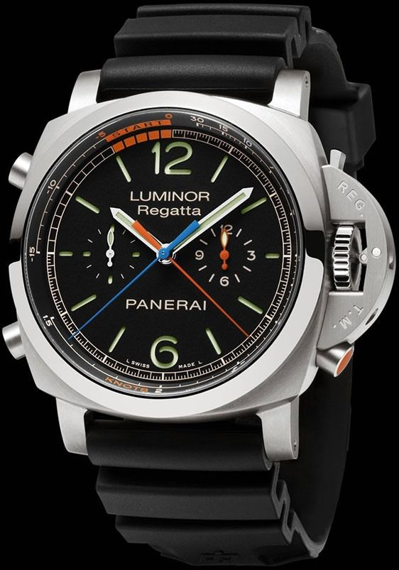 Panerai Luminor 1950 Regatta 3 Days Chrono Flyback Titanio | If you know where to buy this cloth or any other alike please leave the comment in my blog. Thx. Terry