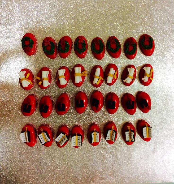 Confetti decorati per laurea Degree confetti