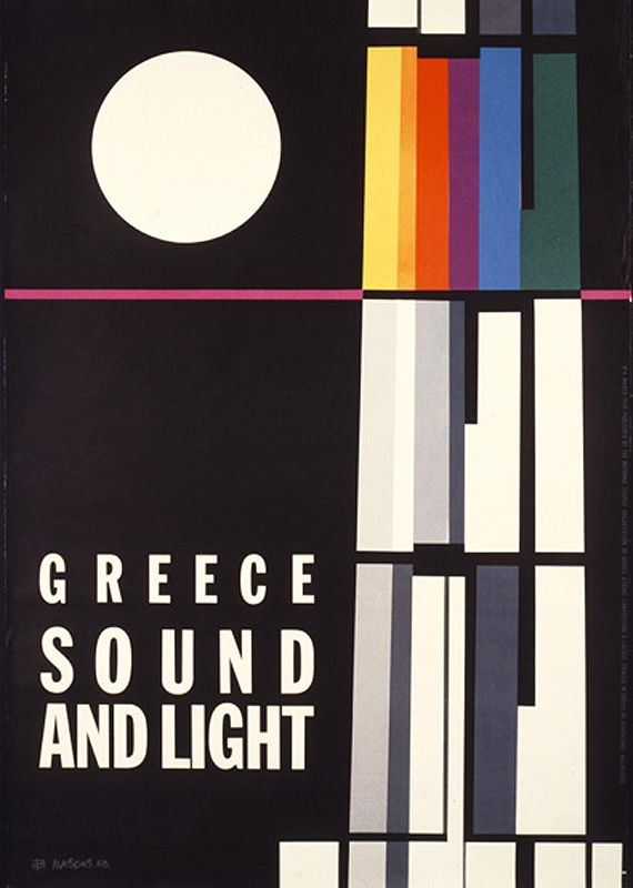 Aφίσες του ΕΟΤ από το χθες στο σήμερα via Athensvoice.gr National Tourism Agency posters since 1929, Greece.