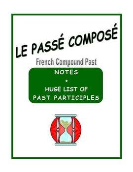 A very structured way to introduce the French PASSÉ COMPOSÉ with easy-to-follow charts.
