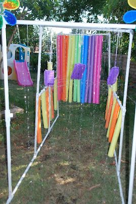 Kid Wash | such a fun idea!