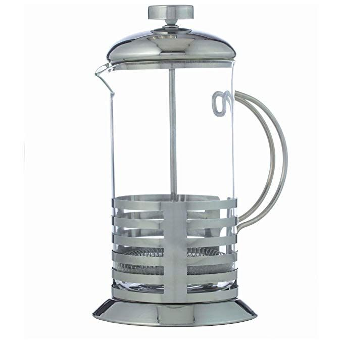Bnf Ktfrprs French Coffee Press Or Tea Maker Clear Glass Carafe Dishwasher Safe Heat And Cold Resist French Press Coffee French Press Coffee Maker Coffee Maker