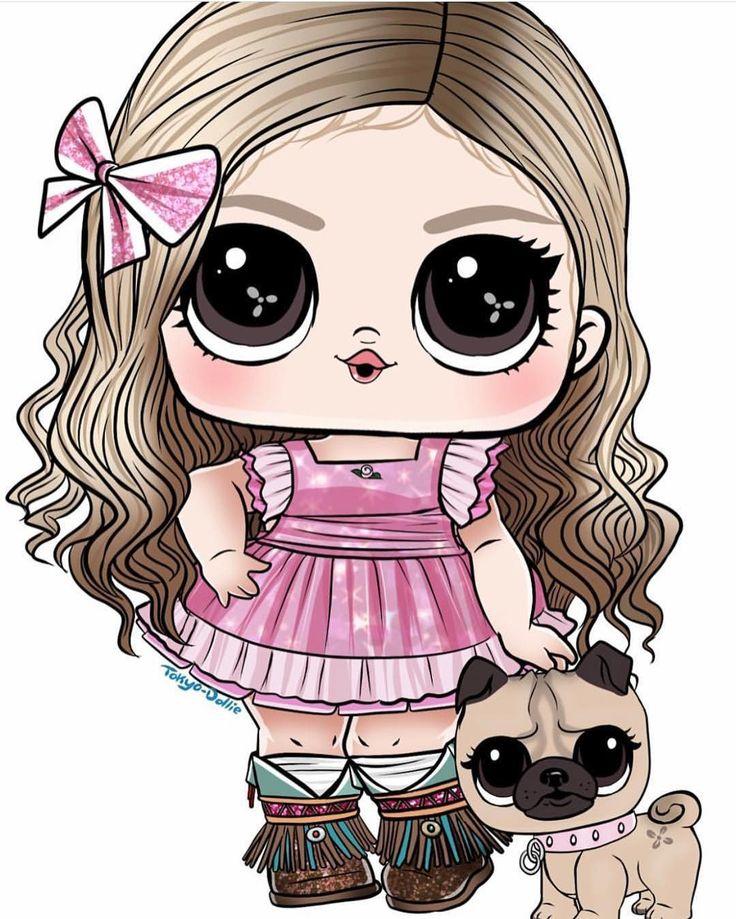 рисунки для куколки лол