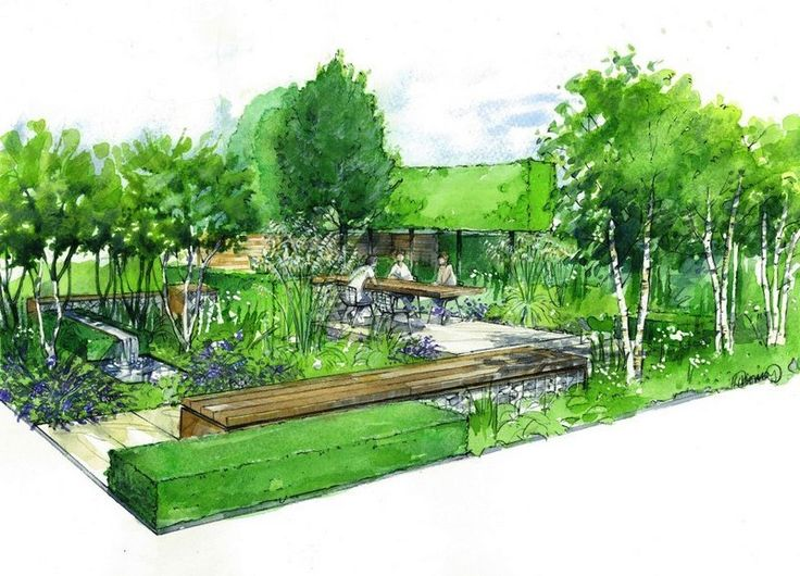 618 Best Images About Garden Design 3D Drawings On Pinterest