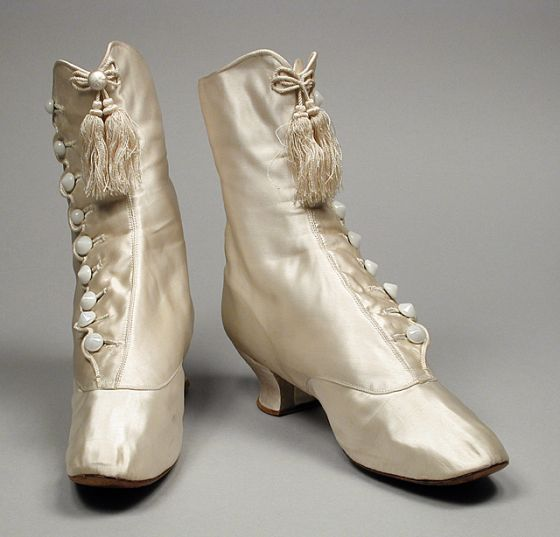 41 Best 1865-1889 Shoes, Ladies (Victorian, Gilded Age