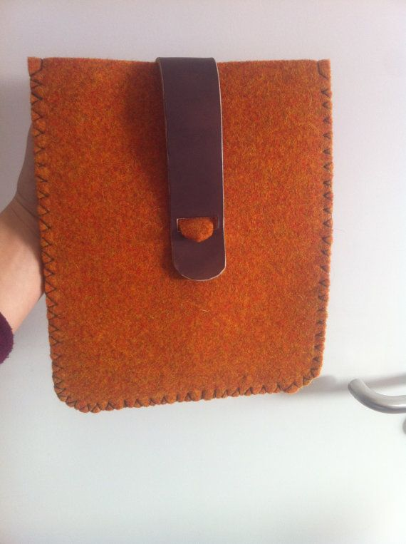 Ipad sleeve in felt