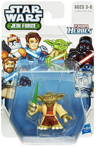 Your little Jedi will fight for the Republic with this Yoda figure at his side! Armed with a lightsaber this figure is sized just right for his hands and his adventures. He'll have one intergalactic ...
