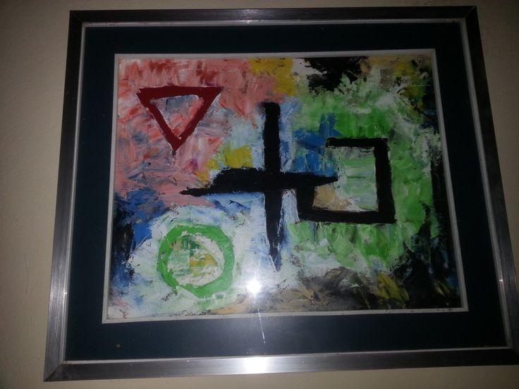 Quadro su tela dipinto con colori ad Olio di PaintForYouArte su Etsy