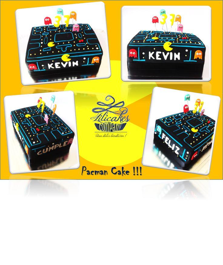 Pacman cake !