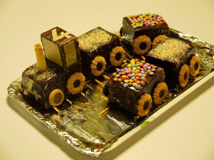 cake-trein door Villa Speelmama