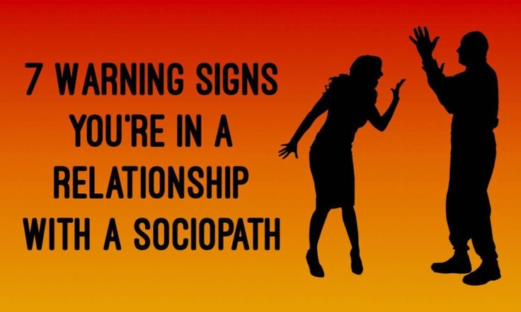 from Aldo 5 signs you are dating a sociopath