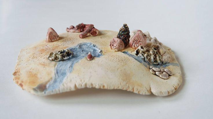 Mini world Berglandschap - keramiek door KeramiekindePolder op Etsy