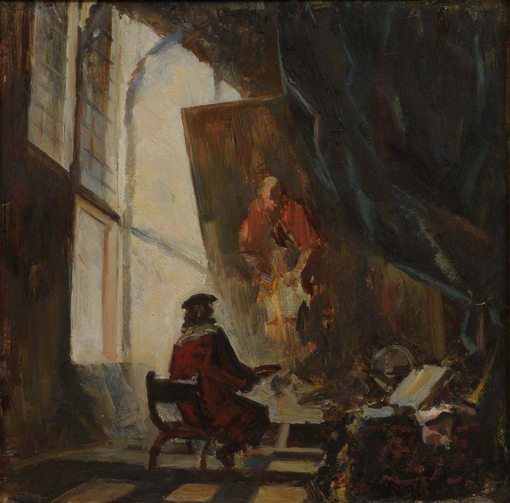 #Rembrandt #РЕМБРАНДТ ПИШЕТ БЛУДНОГО СЫНА #живопись #art #Голландия #mypainting #искусство подробнее https://goo.gl/JkpCXk