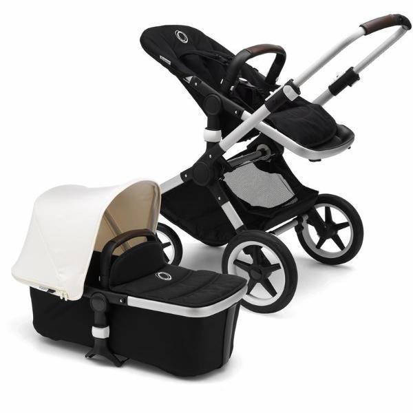 Bugaboo Fox Complete Stroller - Black/Fresh White