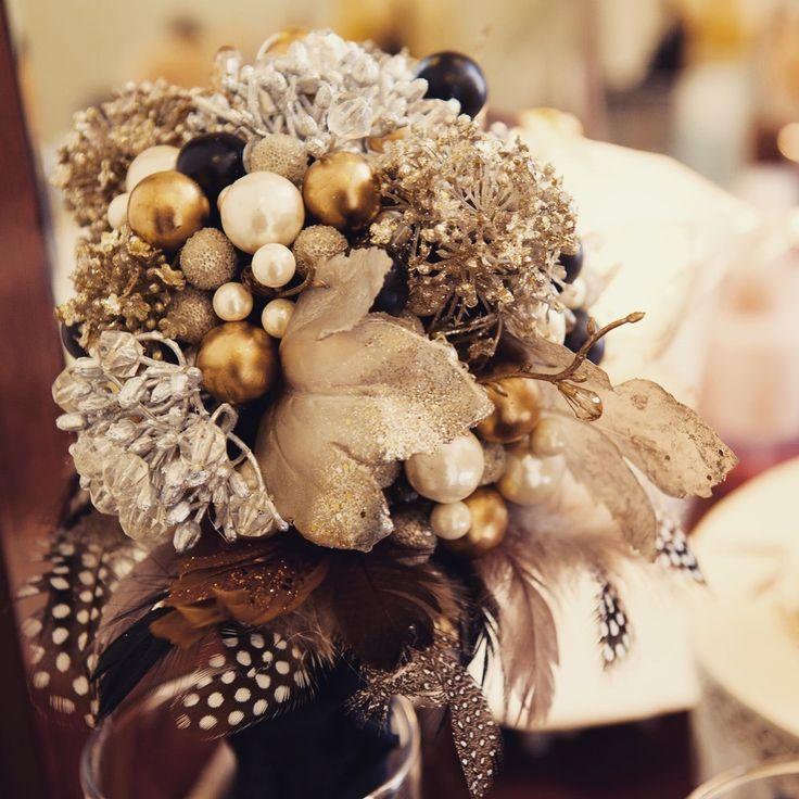 【ブーケ&ブートニア】ビジューブーケ テーマに合わせてオーダーメイドできます | HATTI Wedding Shop