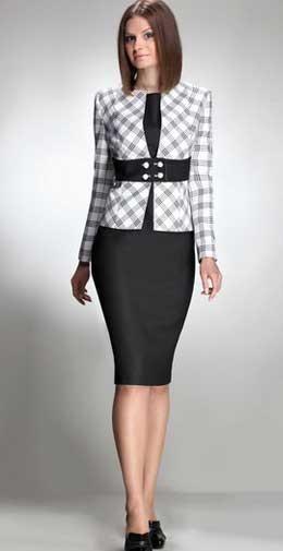 Женский деловой костюм блузка