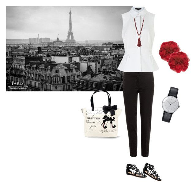 Paris magic! by marialibra on Polyvore featuring Alexander Wang, Etro, Klein & more, Gucci, Lydell NYC, women's clothing, women's fashion, women, female and woman