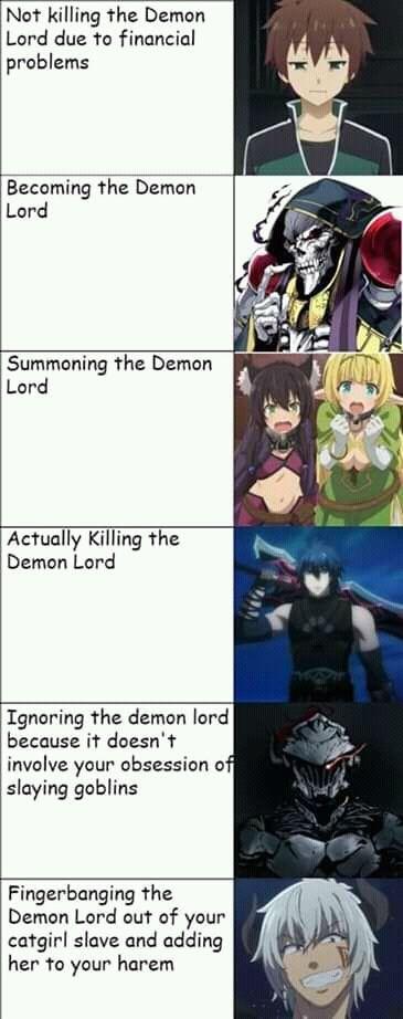 DEMON LORD KonoSuba, Overlord, How Not to Summon a… – #anime #Demon #KonoSuba #Lord #Overlord