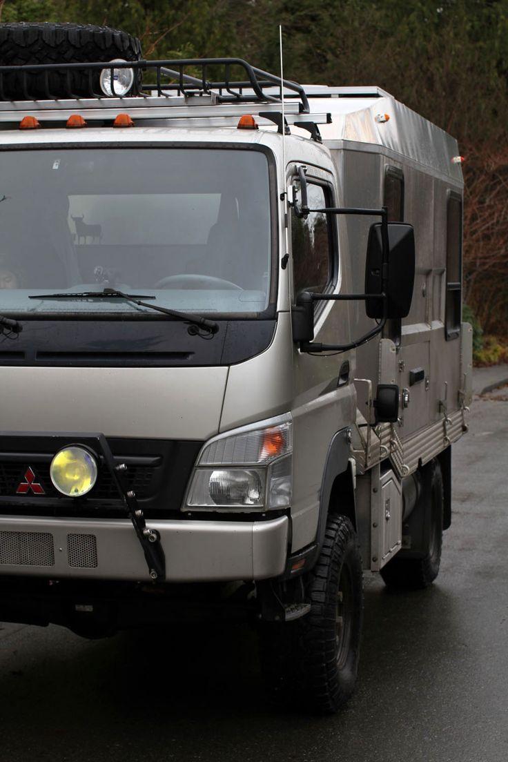 Mitsubishi fuso fg 4 4 expedition vehicle truck